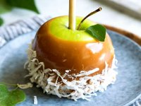 سیب کاراملی ؛ یک دسر پاییزی دوست داشتنی