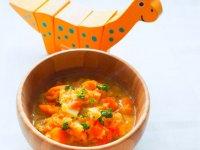 سوپ دال عدس و سبزیجات