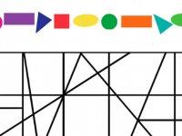 شکل های مخفی را پیدا کن و رنگ بزن