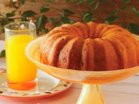 کیک میوه و پنیر
