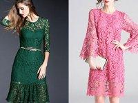 شیک ترین مدل های لباس مجلسی گیپور