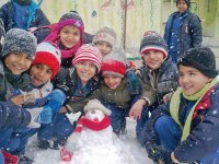 زمستان و پوشش مناسب کودکان