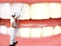 روش های خانگی برای داشتن دندان های مرواریدی