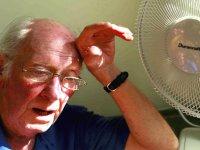 مخاطرات گرما برای سالمندان