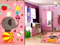اتاقی دوست داشتنی برای کودکان