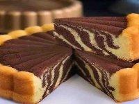کیک زبرا + طرز تهیه