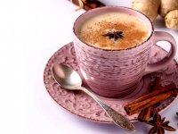 نوشيـدني گرم هلو، قهوه و زنجفيلGeorgia 'n ginger