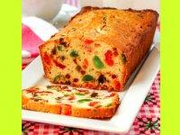 کیک میوهای بدون شکر