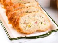 نان رولت سیبزمینی و  ژامبون