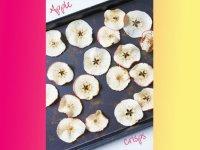 سیب  دارچینی برشته