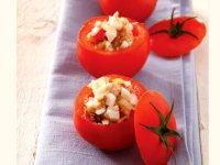 سالاد کاسههای گوجه فرنگی