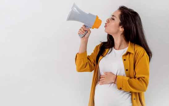 عصبانیت در دوران بارداری ممنوع