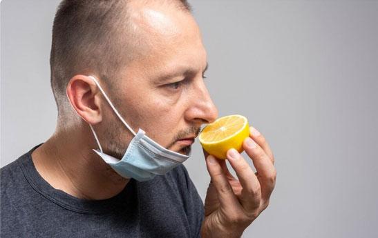 دلایل از بین رفتن حس بویایی وچشایی در کرونا