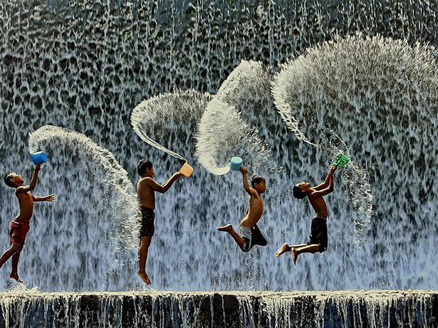 بازی کودکان اندونزی