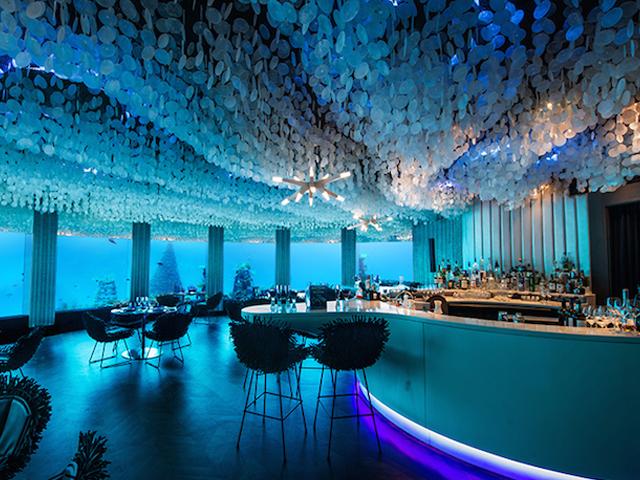 رستوران مجلل زیر آب