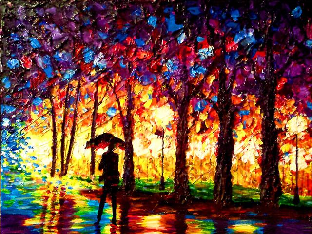 هنرمند نابینا