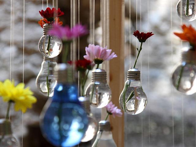 ایده های جالب با لامپ های سوخته