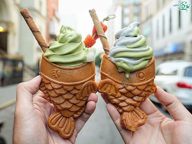 بستنی های جذاب