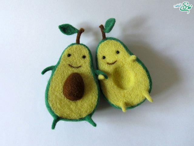 میوه های نمدی