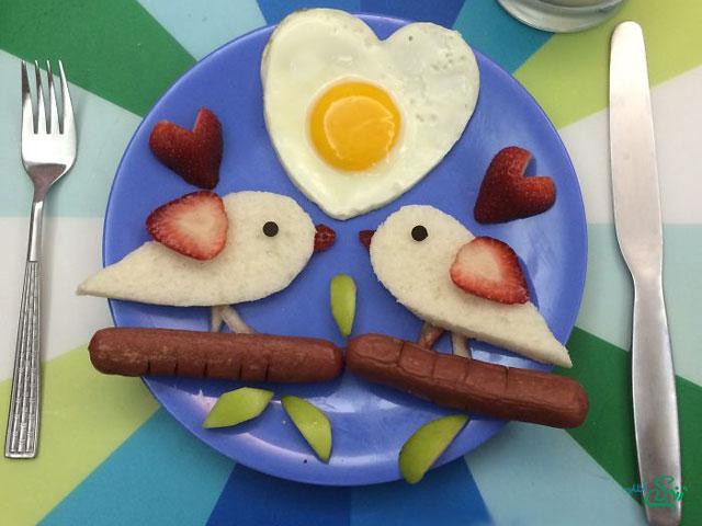 یک صبحانه اشتها برانگیز