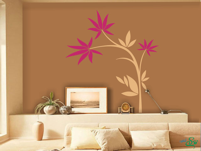 نقاشی های خلاقانه روی دیوار