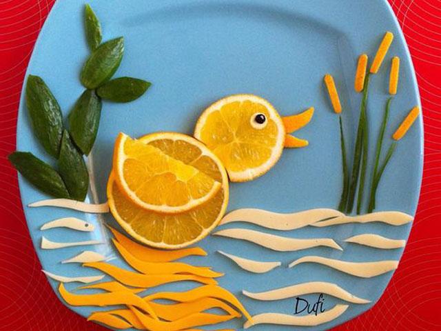 تزئین غذای بچه ها