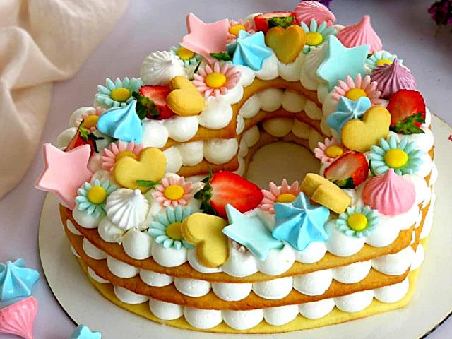 بیسکو کیک عددی