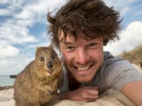 عکس های سلفی جالب با حیوانات