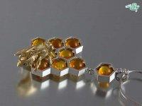طلا و جواهرات زنبوری