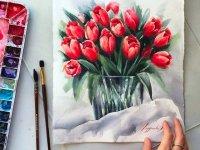 نقاشی با آبرنگ