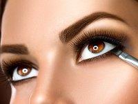 آموزش آرایش زیر چشم