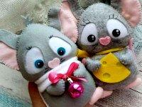آموزش دوخت عروسک موش سال 1399
