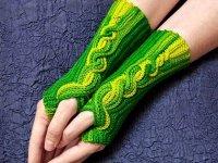 آموزش بافت دستکش نیم انگشتی با قلاب