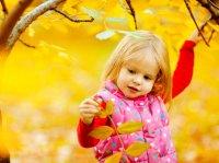 پاییز کودکانه