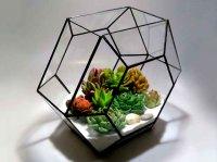 آموزش ساخت چند ضلعی شیشه ای